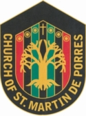 The Church of St. Martin De Porres Logo